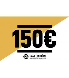Cadeaucheque 150 euro
