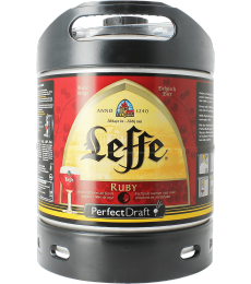 Fust 6L Leffe Ruby Perfect Draft
