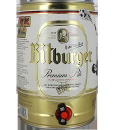 Fust 5L Bitburger Premium Pils
