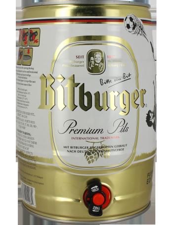 Fusto 5L Bitburger Premium Pils