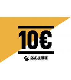 Cadeaucheque 10 euro