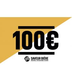 Cadeaucheque 100 euro