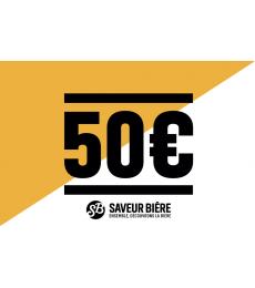 Cadeaucheque 50 euro