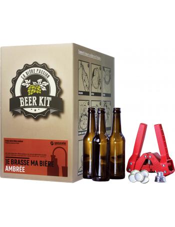 Beer Kit completo, preparo un'ambrata