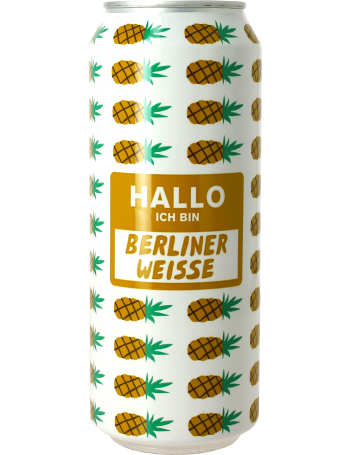 mikkeller hallo ich bin berliner weisse pineapple canette kaufen sie online das beste craft. Black Bedroom Furniture Sets. Home Design Ideas