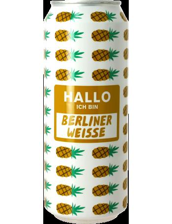 mikkeller hallo ich bin berliner weisse pineapple canette kaufen sie online das beste craft. Black Bedroom Furniture Sets. Home Design Ideas