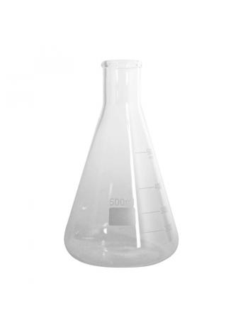 Erlenmeyer kegelvormige fles hittebestendig glas 500 ml for Hittebestendig glas