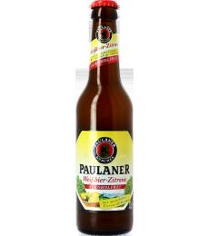 Paulaner Hefe-Weissbier Citron Sans Alcool
